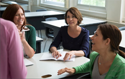 teachers around conference table